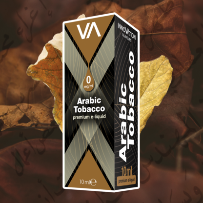 INNOVATION Arabic Tobacco vape juice has a tobacco flavour with deep honey aftertaste.
