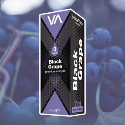 INNOVATION Black Grape vape juice has a good grape flavour a little bit different from other fruit taste. Light sweet and more sour.