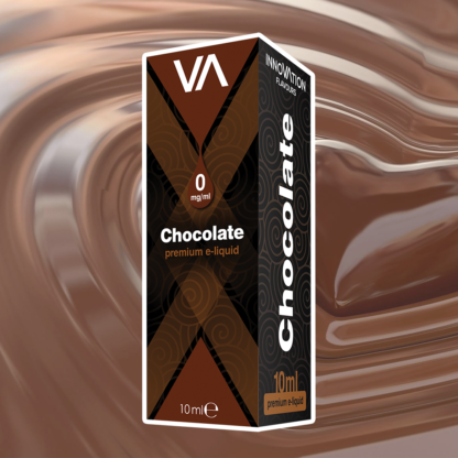 INNOVATION Chocolate vape juice has a milk chocolate taste, cocoa aftertaste suitable for any kind of mixes.