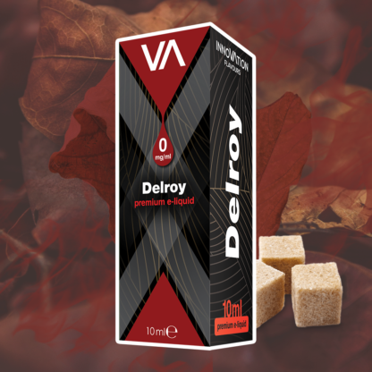 INNOVATION Delroy vape juice has a sweet American tobacco with a caramel hint.