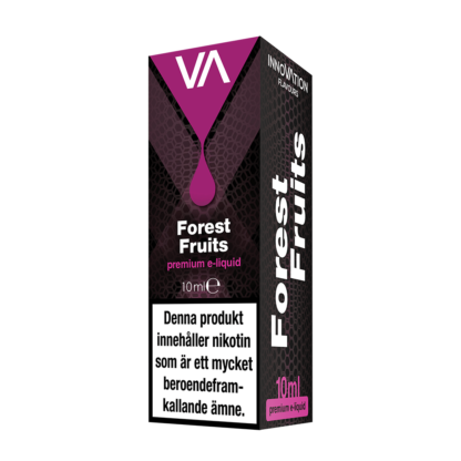 INNOVATION Forest Fruits E-juice has a mixture of blueberry, wild cherry, wild raspberry and wild strawberry flavour. Soft sweet taste.