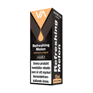 INNOVATION Refreshing Melon E-juice has an strongly distinct flavour of ripe melon, sweet and memorable aftertaste.