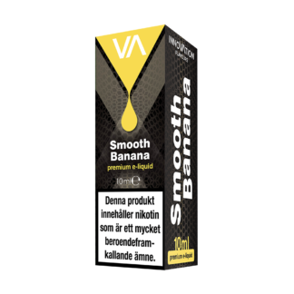 INNOVATION Smooth Banana E-juice has a distinct taste of ripe banana with lasting sweet aftertaste.