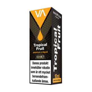 Innovation Tropical Fruit E-juice has a balanced tropical fruit mix, not too sweet, leaving a pleasant aftertaste.
