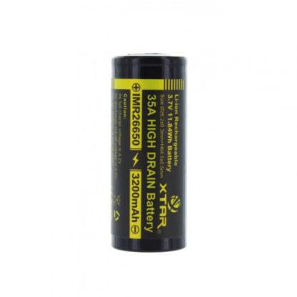 X2O XTAR 26650 3200mah 35amp 1-pack