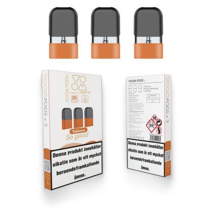 voom prefilled tobacco